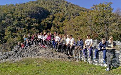 Z učenci devetega razreda na »Pot miru«