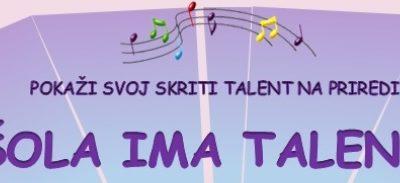 Šola ima talent 2019