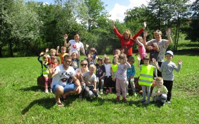 Skupina mavrice je obiskala PARK RENC