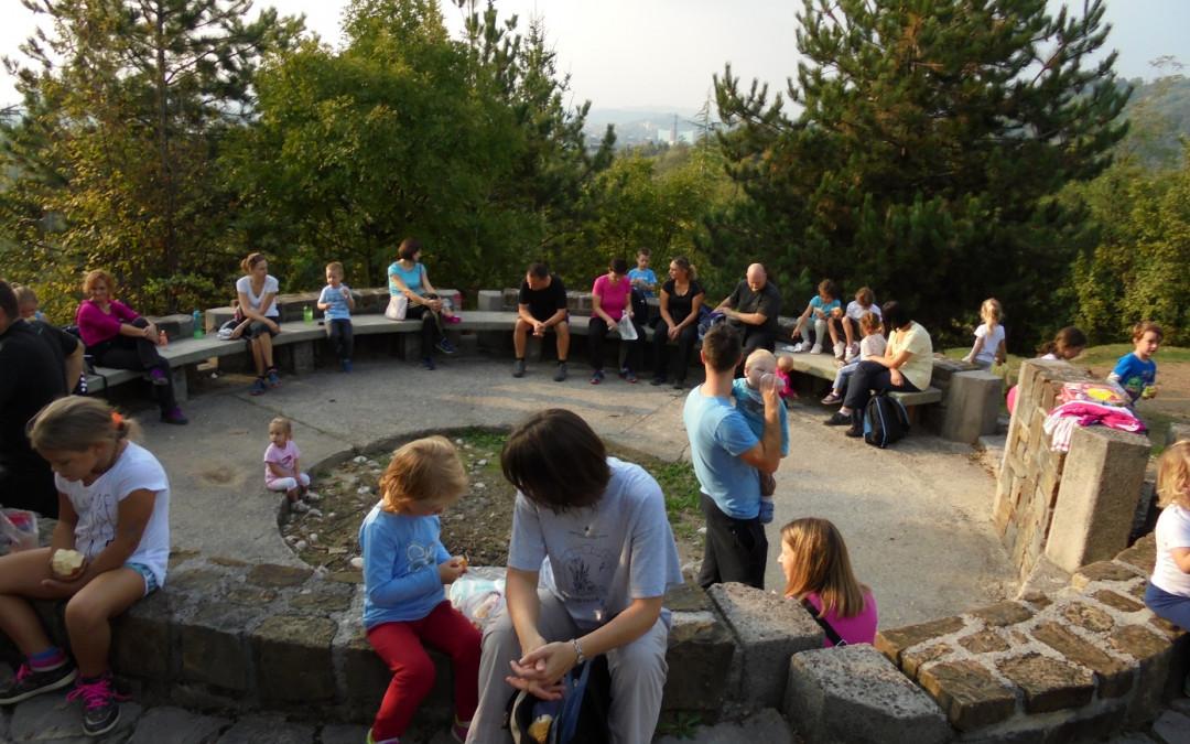 Pohod s starši v vrtcu Bukovica