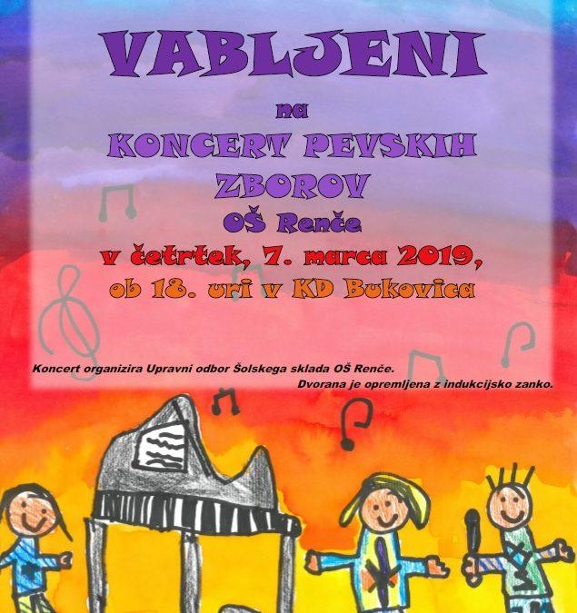 VABLJENI na koncert pevskih zborov!
