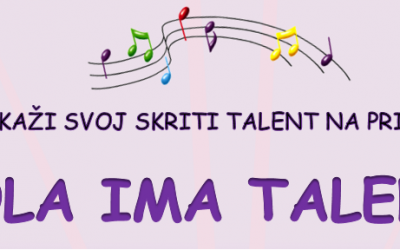 Razpis: Šola ima talent 2020