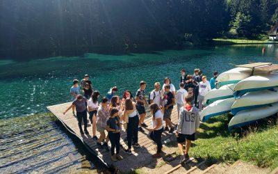 Devetošolci so srečno prispeli na 1000 metrov
